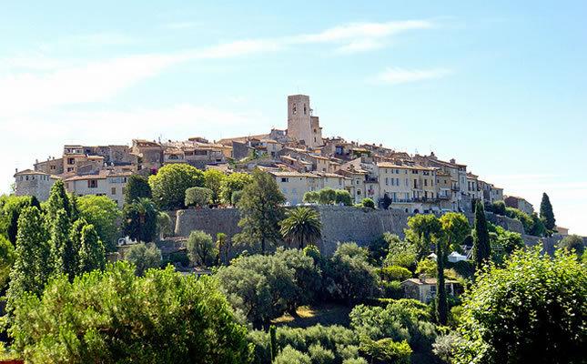 De 5 mooiste dorpen van de provence for Chagall st paul de vence